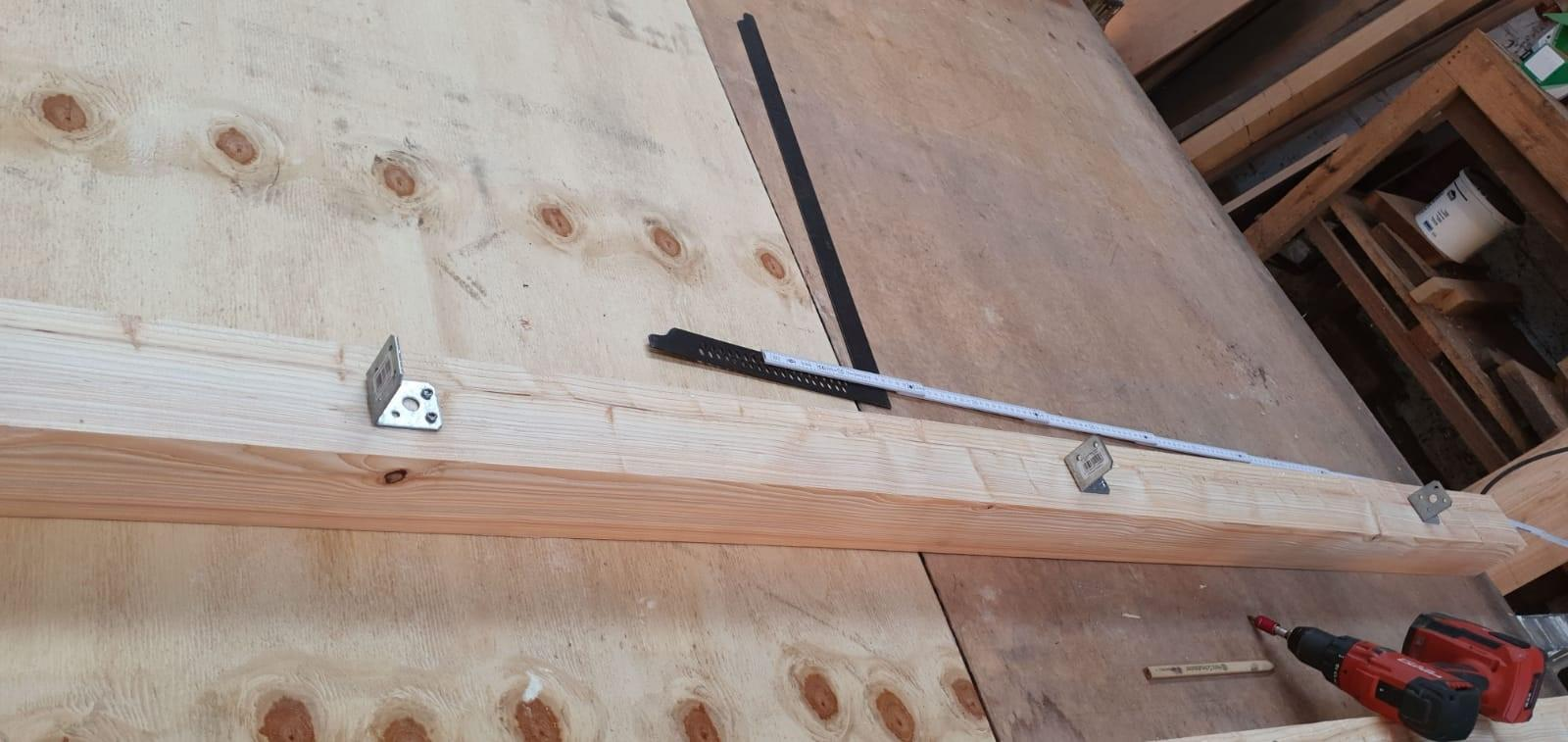 Zaunbausatz Doro 24x148mm roh